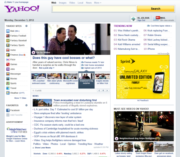 BMI Elite on Yahoo!